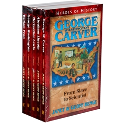 Review: Heroes of History (Books 1-5)