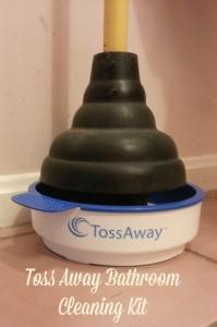 Toss Away Bathroom Cleaning Kit