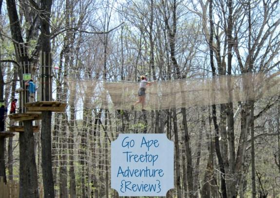 Go Ape Treetop Adventure {Review}