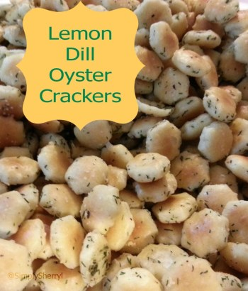 Lemon Dill Oyster Crackers