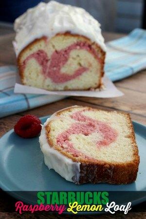 Starbucks Raspberry Lemon Loaf