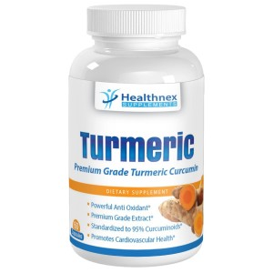 Healthnex Supplements - Tumeric Curcumin Capsules