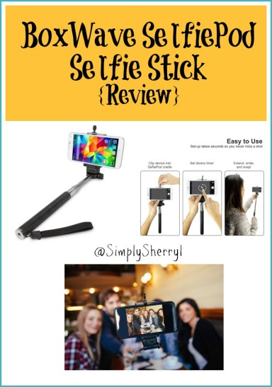 BoxWave SelfiePod Selfie Stick {Review}