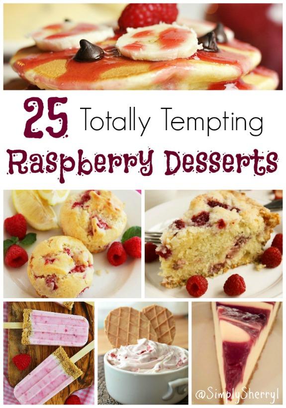 25 Totally Tempting Raspberry Desserts