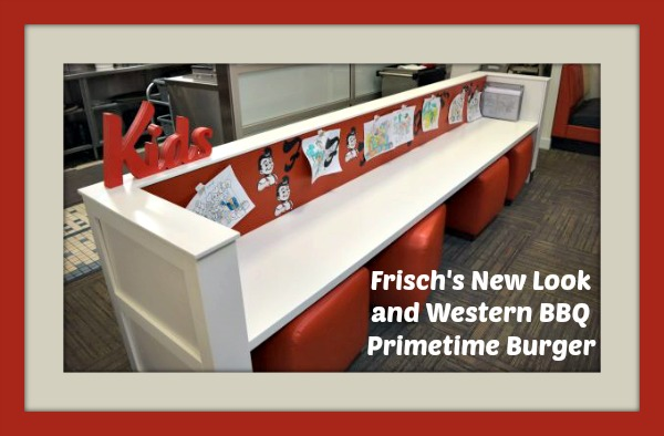 Frisch's New Look and Western BBQ Primetime Burger