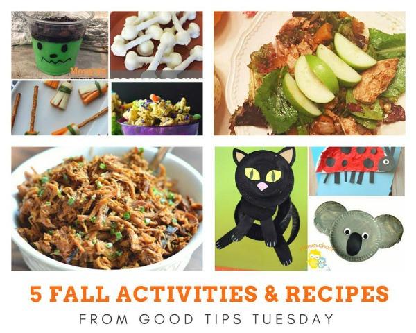 5 Fall Activities & Recipes