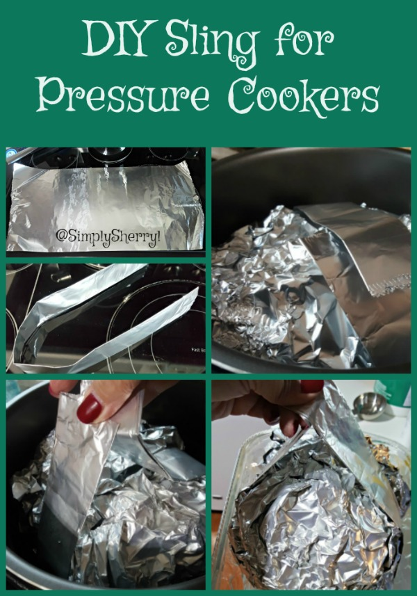 DIY Sling for Pressure Cookers