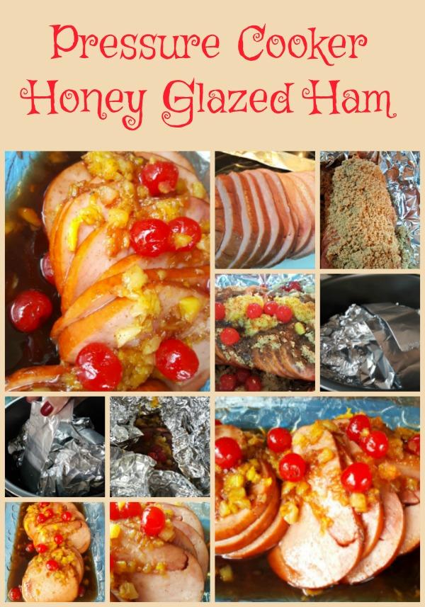 Pressure Cooker Honey Glazed Ham