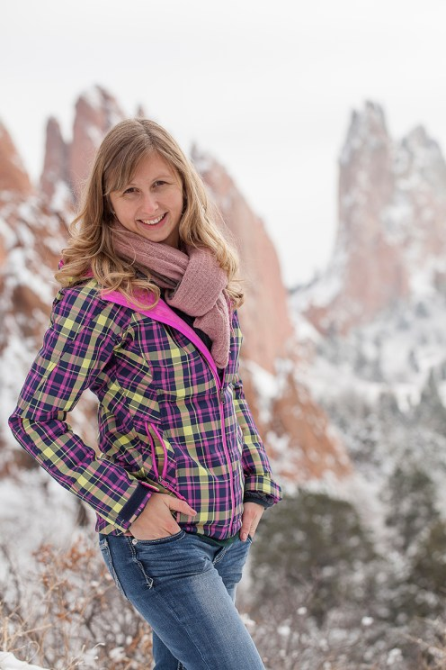 Garden of the gods USA sherryn Leigh Clarke red rocks north face