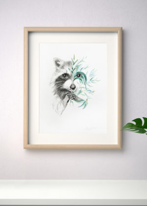 Raccoon Charmer - From $65