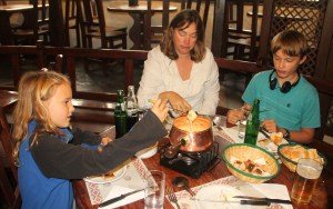 Fondue! A flash back to Switzerland