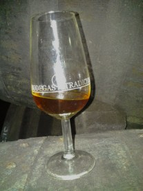sherry straight from the barrel