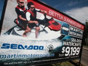 Edmonton Mobile Sign Rental