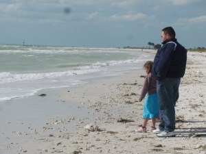 Man and Daughter