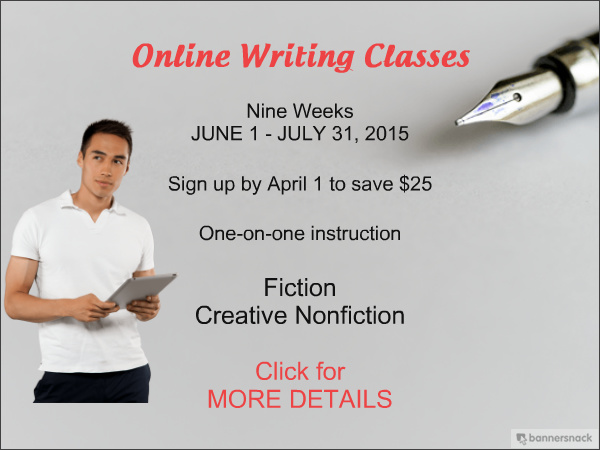 Summer Writing Classes with Sheryl Monks