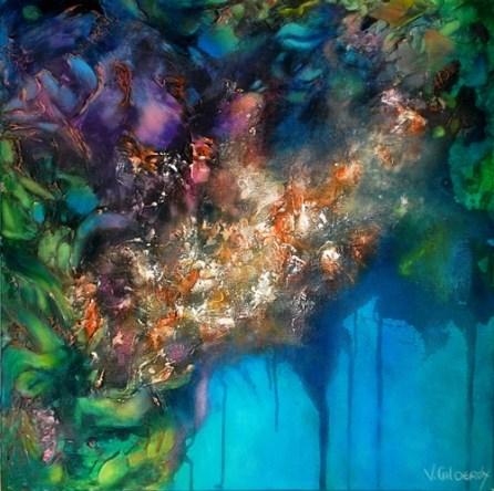 Painting by Vivian Calderon