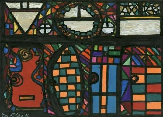 """Port of Entry"" by Darrell Urban Black"