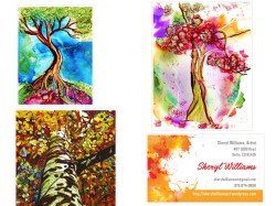 L. Trees: Whimsy, Girl Tree, Up the Aspen