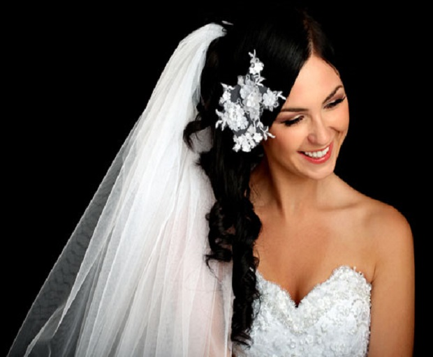 Bridal Hairstyles With Long Veils SHESAID