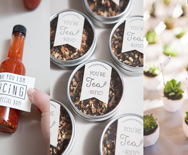 16 DIY Wedding Favors Your Guests Will Love