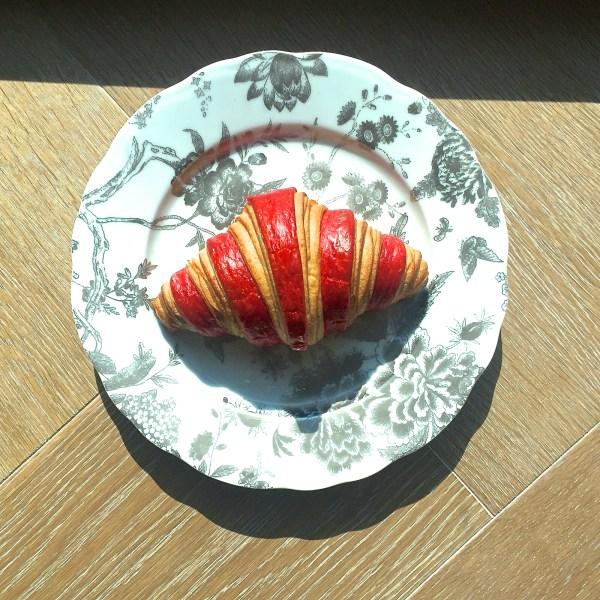 St Regis raspberry croissant