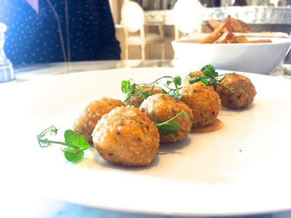 St regis truffle balls