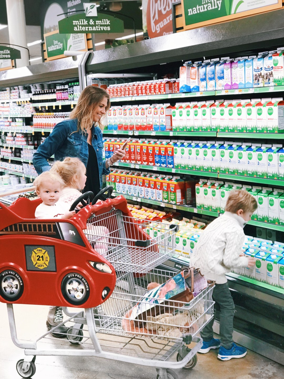 Busy Mom's Guide to Grocery Shopping