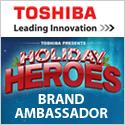 Toshiba Brand Ambassador