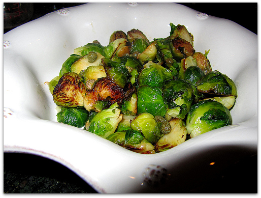 Cat Cora brussels sprouts recipe