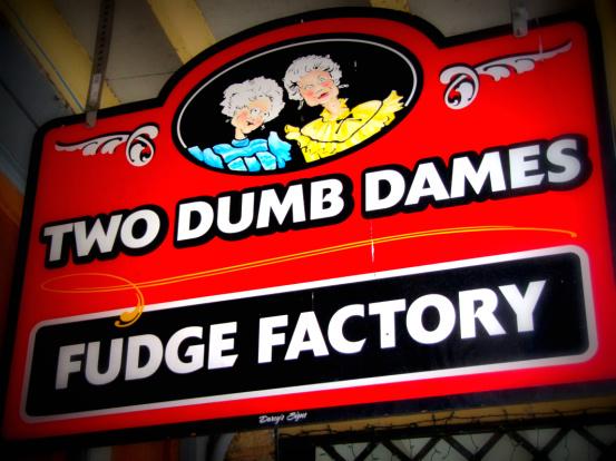 Two Dumb Dames in Eureka Springs, AR