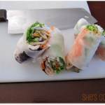 how to make spring rolls, Xanh Bistro Spring Rolls