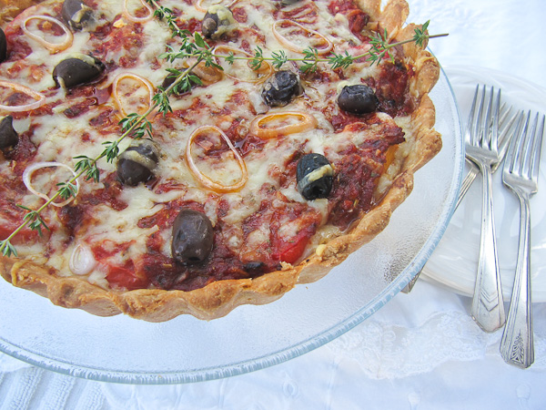French Tomato Tart | She's Cookin' | food and travel