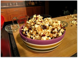 Cat Cora's Popcorn Trail Mix