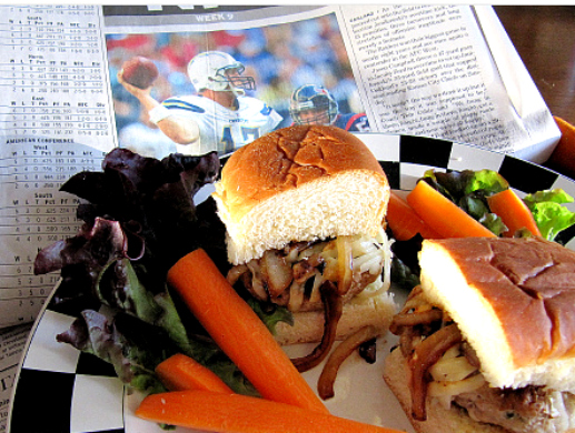 Sliders for Super Bowl