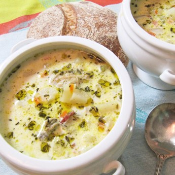 Clam Chowder from the Soup Kitchen