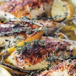 Ina Garten's Lemon Chicken Breast with thyme