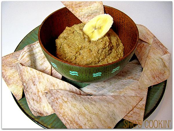 Banana Cashew Hummus | ShesCookin.com