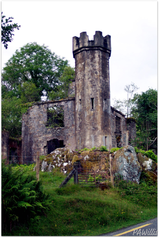 Abandoned Irish Castle - Ring of Kerry | ShesCookin.com