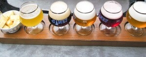 belgian beer flight - Brussels