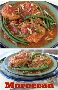 Moroccan Chicken & Green Beans | ShesCookin.com