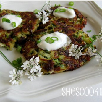 Zucchini Keftedes with Feta