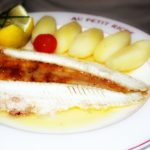 Sole Meunière with boiled potatoes