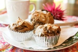 Mario Lopez Banana Coconut Muffins, healthy muffin recipes