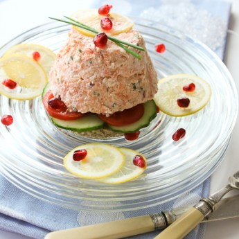 Salmon Mousse and Champagne