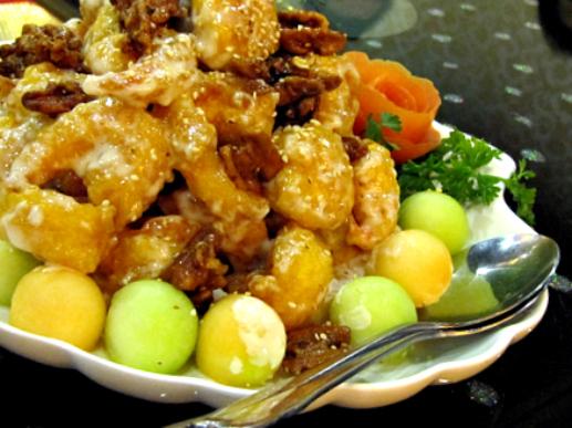 Honey Glazed Walnut Shrimp