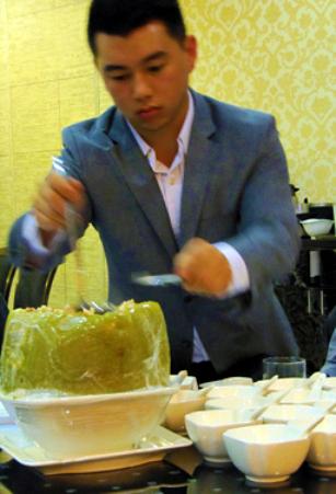 Capital Seafood Winter Melon Soup