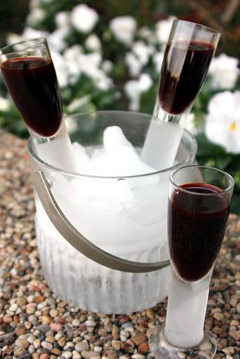 Beet infused vodka