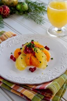 Citrus Salad with mint gremolata