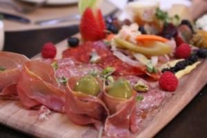 cucina enoteca, salumi and cheese