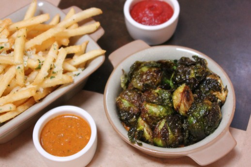 cucina enoteca, brussels sprouts